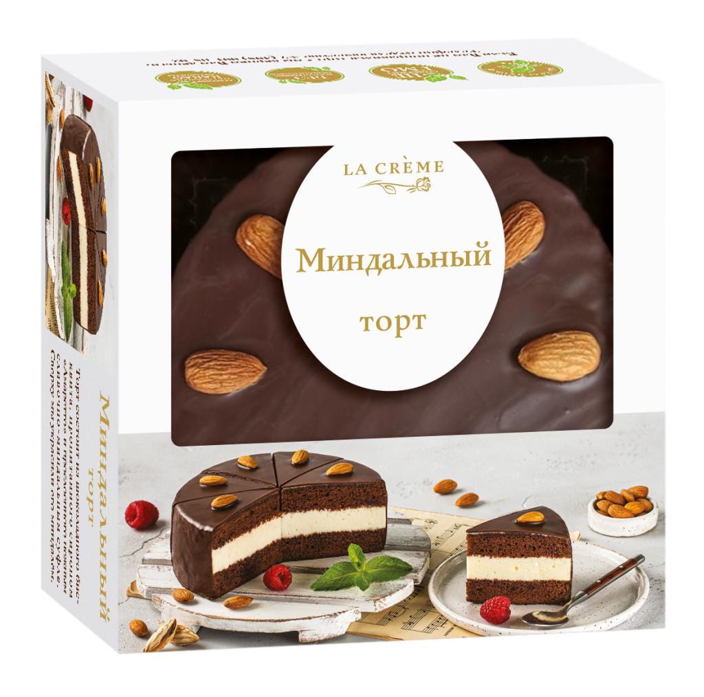 Торт Ла Крем Миндальный