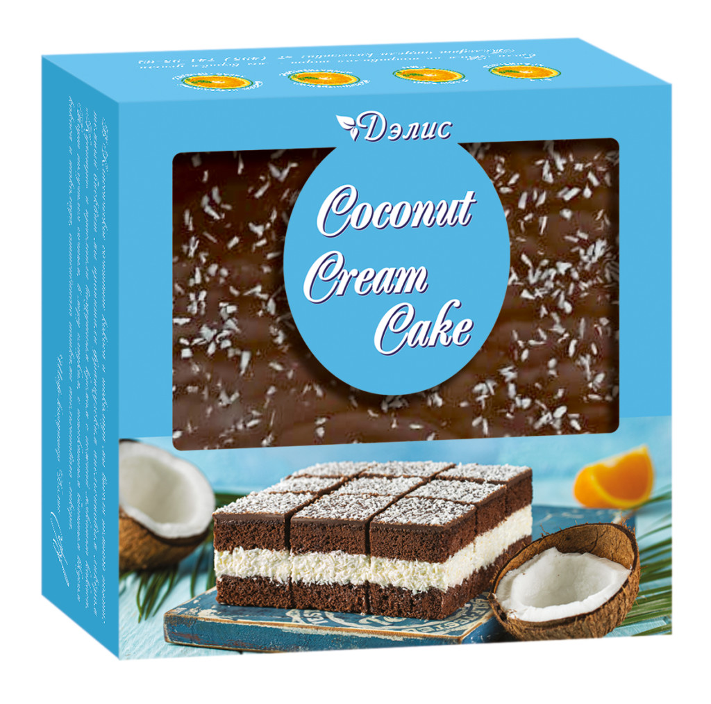 Торт «Коконат крем кейк»