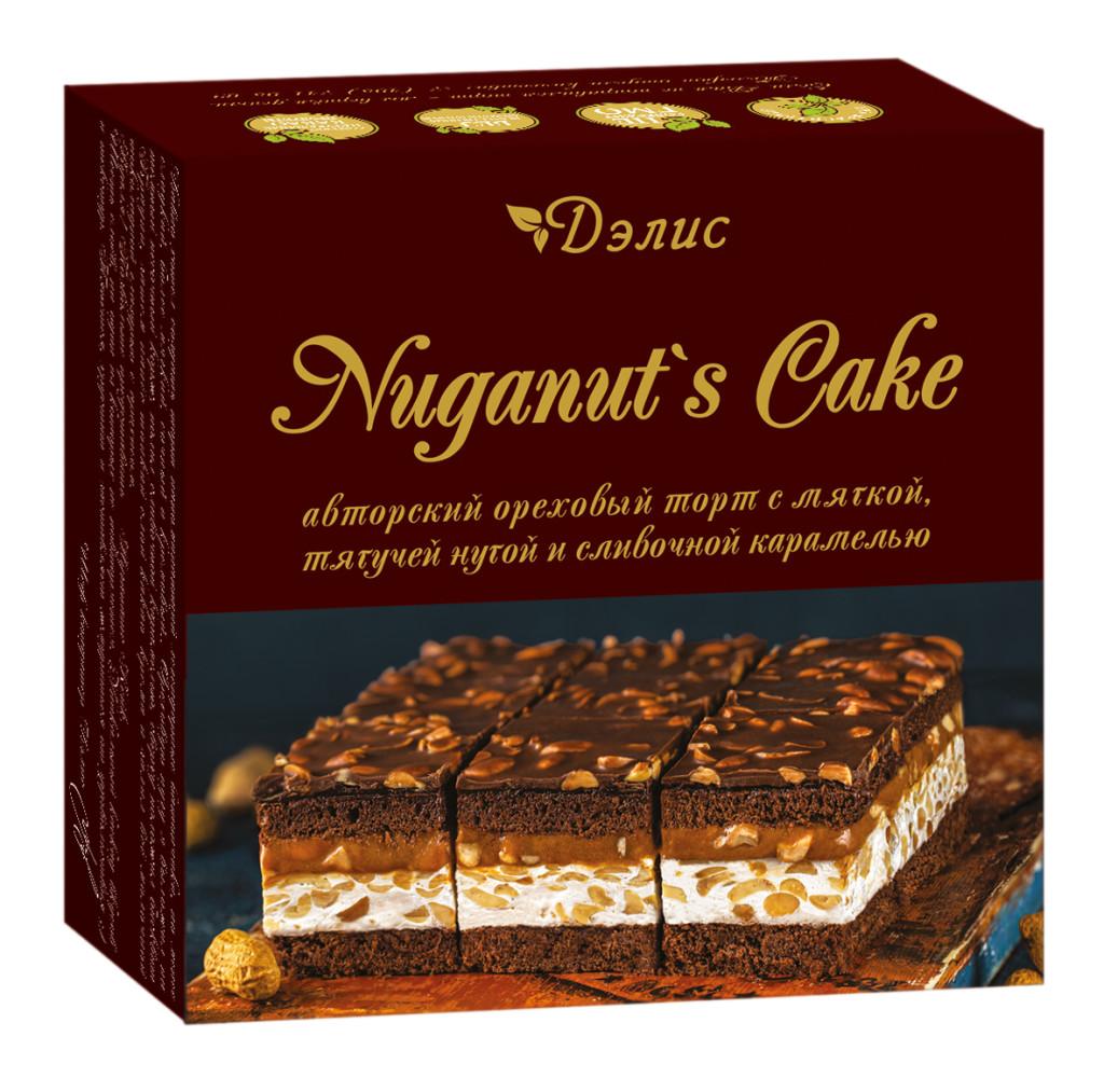 Торт «Нуганатс кейк»